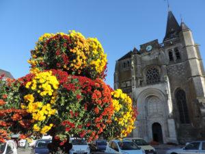 Une ville à trois fleurs