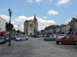Place Dupont de l'Eure au Neubourg